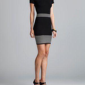 Max Studio short sleeved ribbed dress